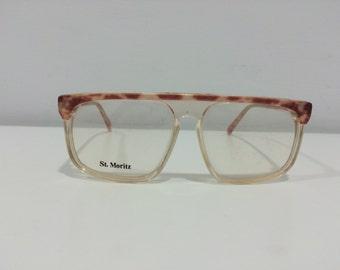New Vintage St.Moritz Eyeglasses Regatta Rose