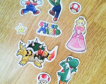 Super Mario Stickers