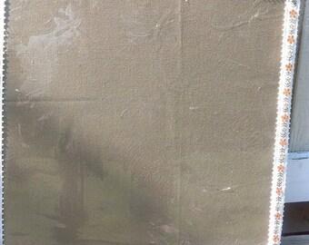 Burlap Dry Erase Board