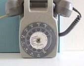 Vintage Mural Telephone