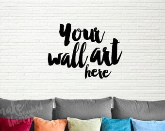 Blank wall art mockup / Styled stock photography / Instant download /