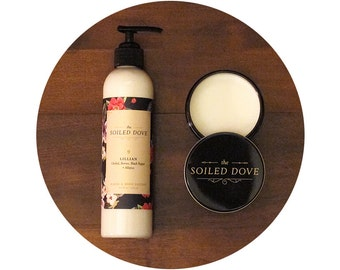 Lillian Hand & Body Lotion • Orchid, Berries, Black Pepper and Allspice
