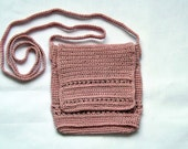 Knitted handbag on to order Knitted small bag, purse strap, bag, purse, choose color