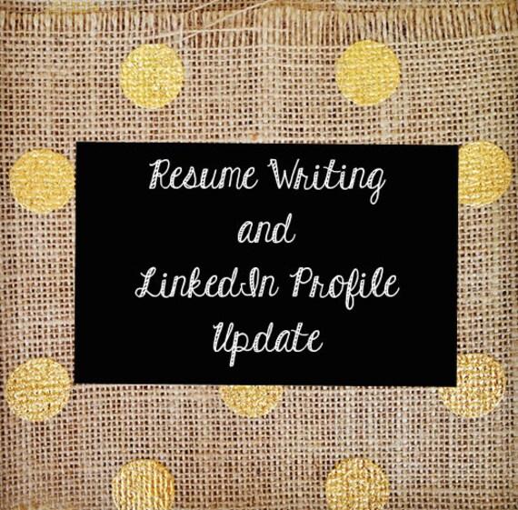 resume writing linkedin profile update free resume
