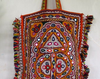 Vintage Boho Bag / Kutchi Banjara Bag / Gypsy Bag