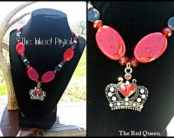 The Red Queen Beaded Necklace