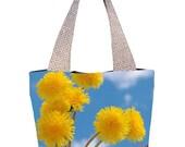 Dandelions Textile Summer Bag (C0409)
