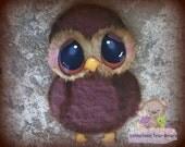 Owl embellishment, CUSTOM scrapbooking, owl paper piecing, scrapbook embellishment, scrapbook paper piecing TEAR BEAR tearbears #SLsales