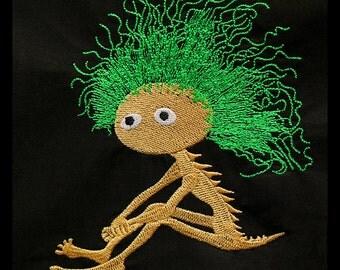 Little Creature - machine embroidery design