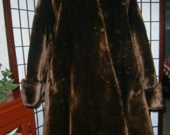 Women's Mouton Coat-1940's