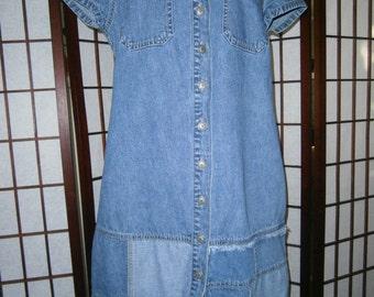 Women's Denim Dress - Short