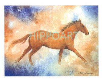 SOUTHWEST HORSE Greeting Card
