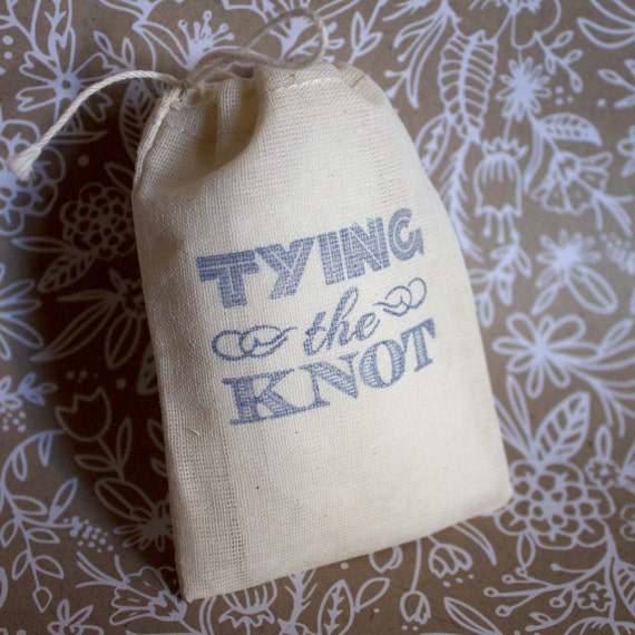 The Knot Wedding Gift List : Tying the Knot - Wedding Favor Gift Bag