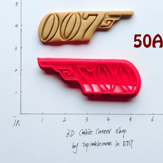 Baby Gift Ideas Savings Bond : James bond cookie cutter birthday favor party by topcookiemore