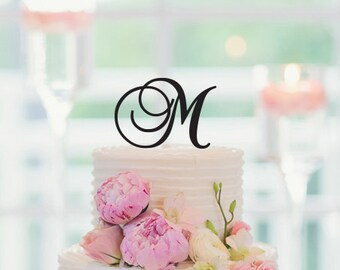 Wedding Cake Monogram Personalized Topper Cake Decoration