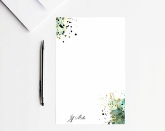 Paper Goods Custom Stationery Paper Stationary Letter Writing Set Letter Writing Paper Letter Paper Watercolor Stationary Set Stationery Set