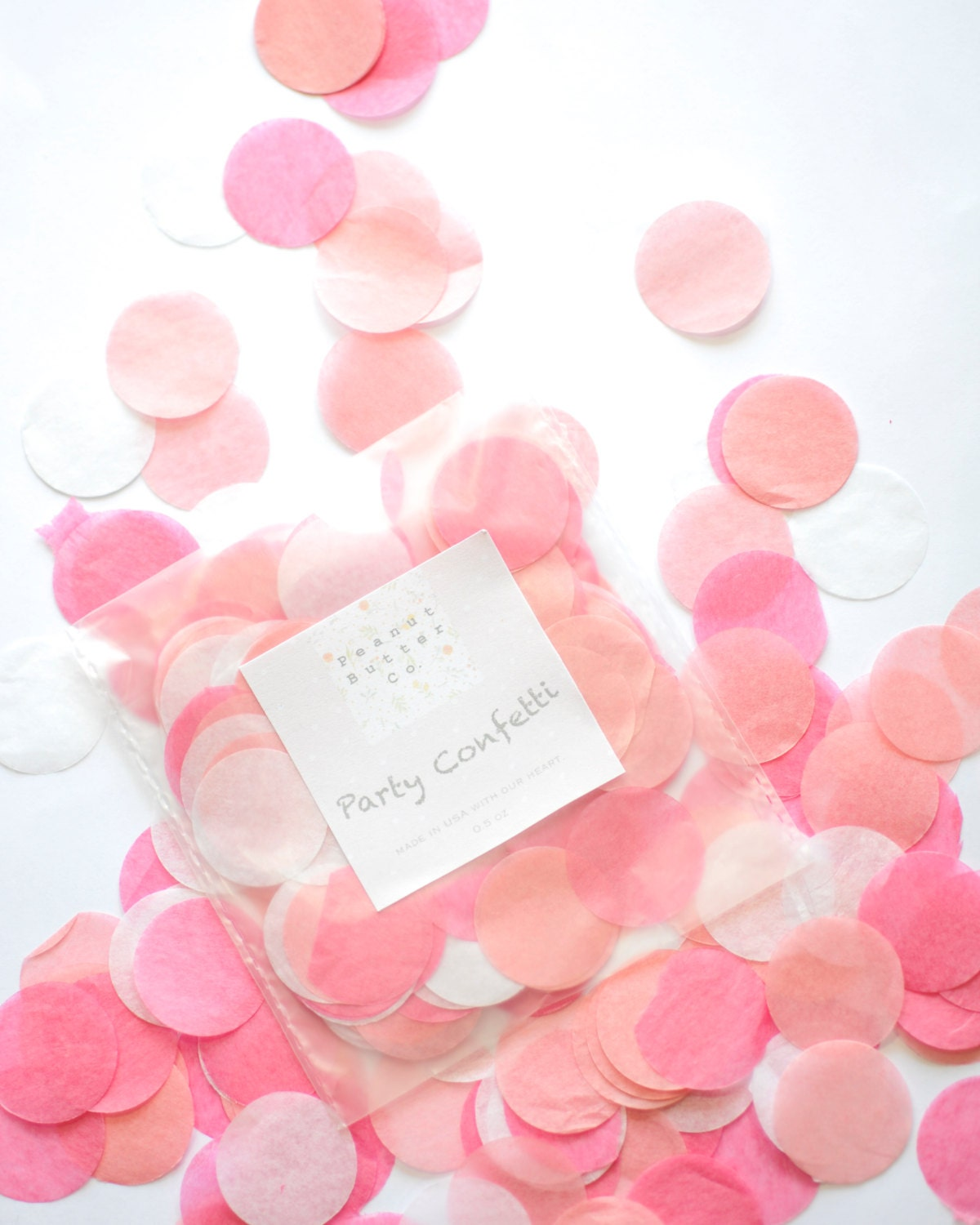 Baby shower confetti pink confetti baby shower decor for Baby confetti decoration
