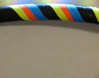 The Wave. Exercise hoop,Specialty Hoop, weighted hoop, blacklight hoop, UV Hoop, travel hoop, collapsible hoop, dance hoop, Moons Of Noor