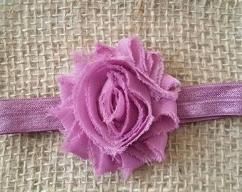 Shabbie flower headband