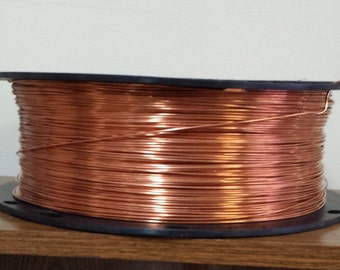 copper wire - 14 gauge copper wire - bare copper - 500 ft. spool