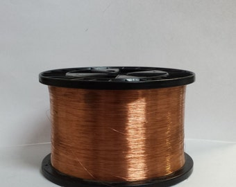 copper wire - 36 gauge copper wire - bare copper - 5000 ft. spool