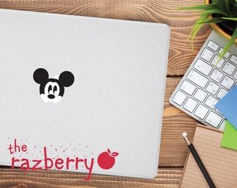 Mickey Mouse Macbook Decal Macbook Sticker Macbook pro sticker Disney sticker Disney Decal Disney Laptop stickers Macbook Vinyl Character