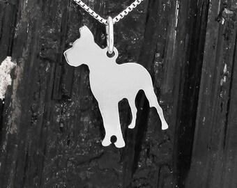 Great Dane Sterling Silver Pendant