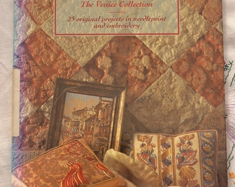 Glorafilia The Venice Collection, 25 original projects in needlepoint and embroidery, 1991