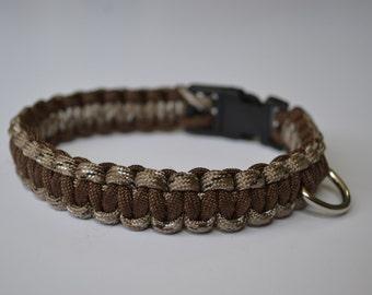 Custom Pet Collar - 550 Paracord Cobra Weave