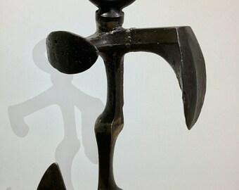 Metal Sculpture, Last Man