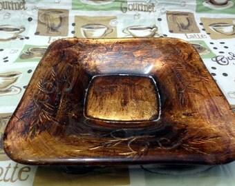 Copper Square Bowl