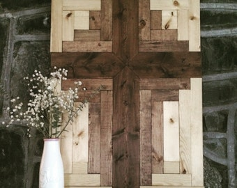 Cross Wood Wall Art