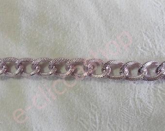 Wavy purple diamond chain (50 cm)