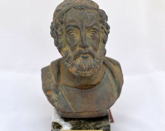 Homer Ancient Greek Poet sculpture statue bust 1st c.b.c.