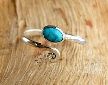 Silver Toe Ring, Adjusable Toe Ring, Gemstone Toe Ring, Foot Accessories, Foot Ring, Stone Toe Ring, Band Toe , Foot Jewelry