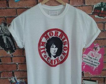 Men's Jim Morrison Indie Rock t shirt/T-shirt/tee (Woman's fit available)