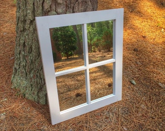 Faux Window Mirror