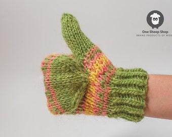 Woolen gloves Warm Knitted Gloves Mittens