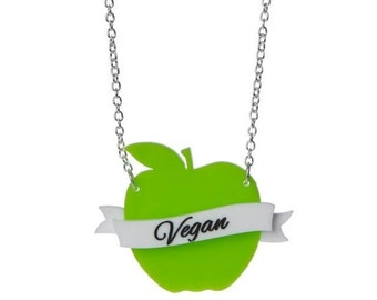 AGNG x Sugar & Vice Apple Necklace - Vegan - Ethical