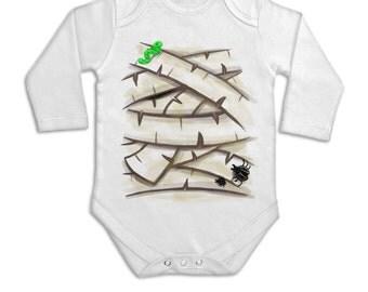 Mummy Costume long sleeve baby grow