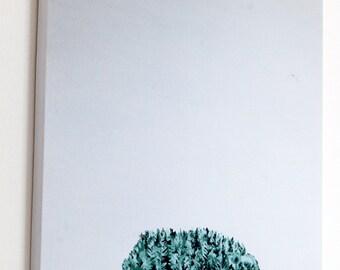 Tree bunch - foam mounted glicee print.