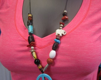 Peace & Tranquility Beaded Necklace
