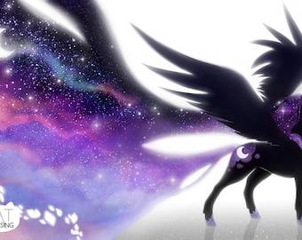 Princess Luna Fan Art Print