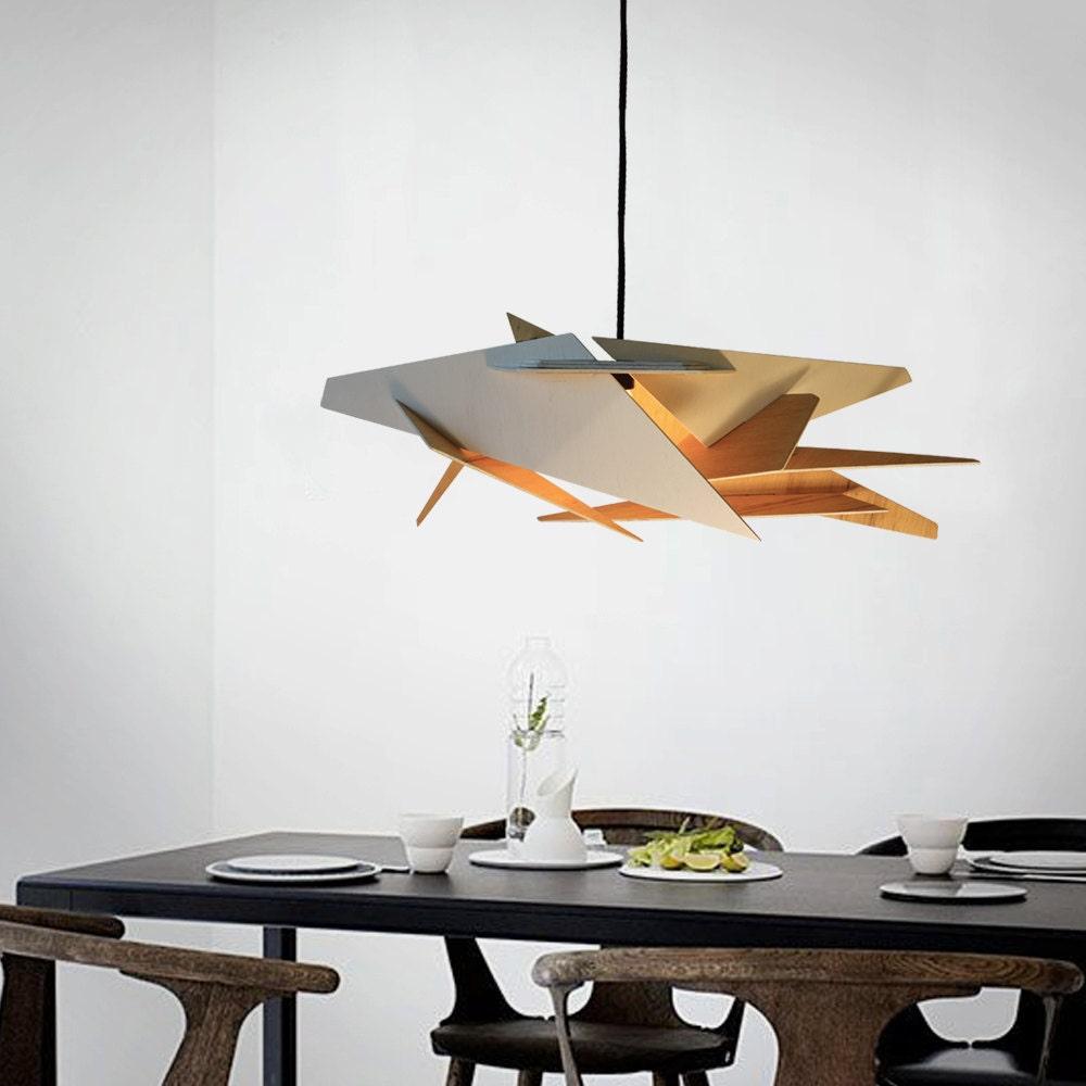 Pendant Light Wood Lamp Ceiling Fixture Dining Light