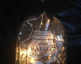 Patron Lighted Bottle