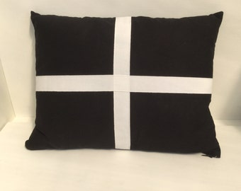 Cornish flag cushion