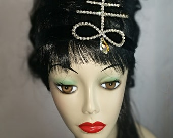 Rhinestone Leviathan Cross Headband