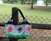 Big Patchwork Tote Cotton and Steel Playful