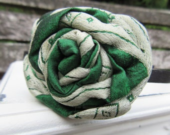 Vintage Style Rose on an Aliceband