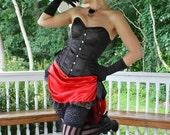 Sassy Sabine Saloon Girl Costume Custom Made